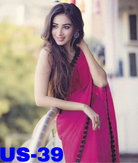 Picture of Pink colour Saree