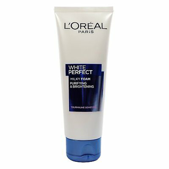 Picture of L'Oreal Paris White Perfect Milky Foam Facewash, 100ml