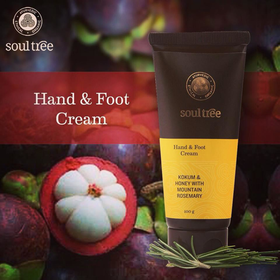 Picture of SoulTree Hand And Foot Cream - 100 Gm