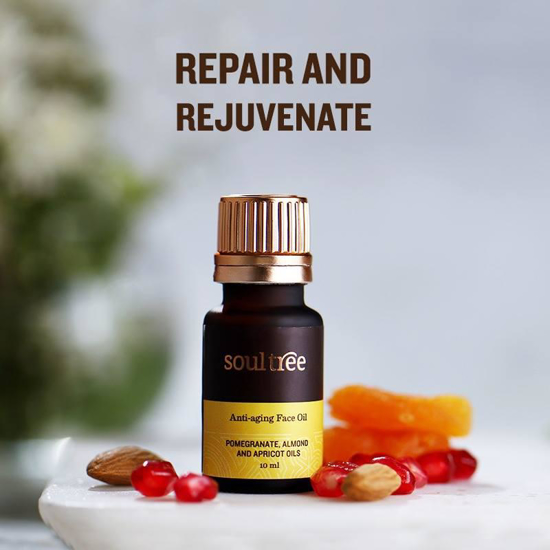 Picture of Soultree Anti Aging Face Oil - 10 Ml