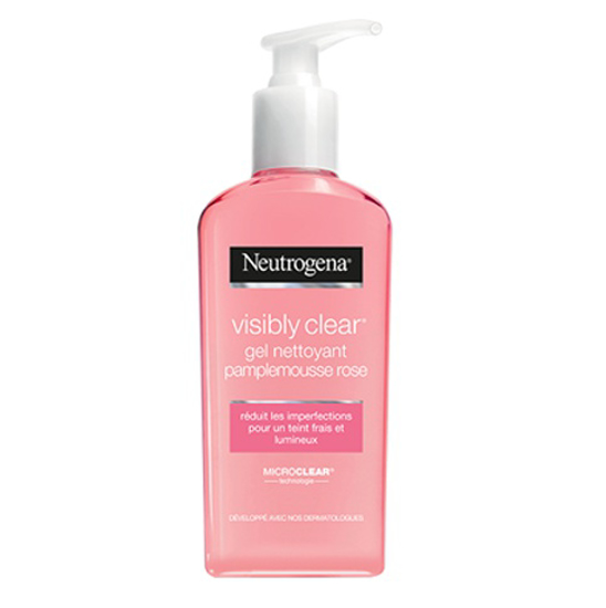 Picture of Neutrogena Visibly Clean Gel Nettoyant Pamplemousse Rose