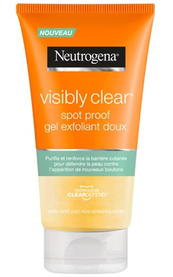 Picture of Neutrogena Visibly Clear Gel Exfoliant Doux