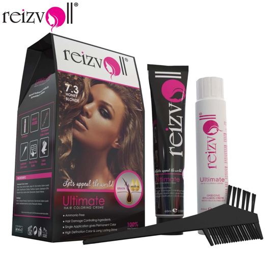 Picture of Reizvoll Ultimate Hair Coloring Creme - 7.3 Honey Blonde