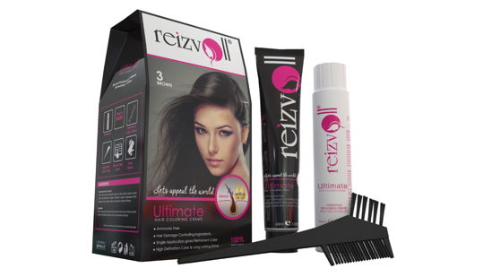 Picture of Reizvoll Ultimate Hair Coloring Creme - 3 Brown