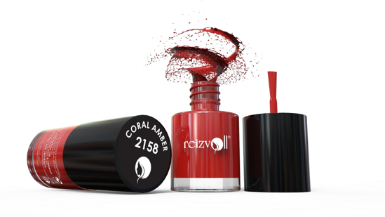 Picture of Reizvoll Nail Color - 2158 (Coral Amber)