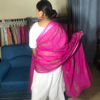 Picture of Pink Hand Block Print Dupatta