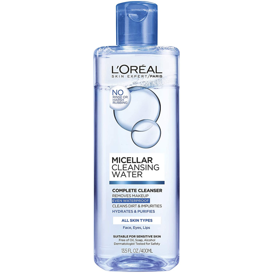 Picture of Loreal Paris MICELLAR CLEANSING WATER Complete Cleanser Waterproof