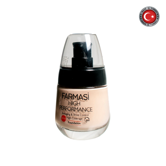 Picture of Farmasi High Performance Foundation Light Champagne 02 - 30ml