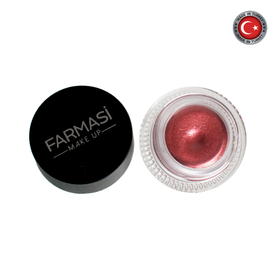 Picture of Farmasi Make Up Long Last Creamy Eyeshadow 04 Red Glaze