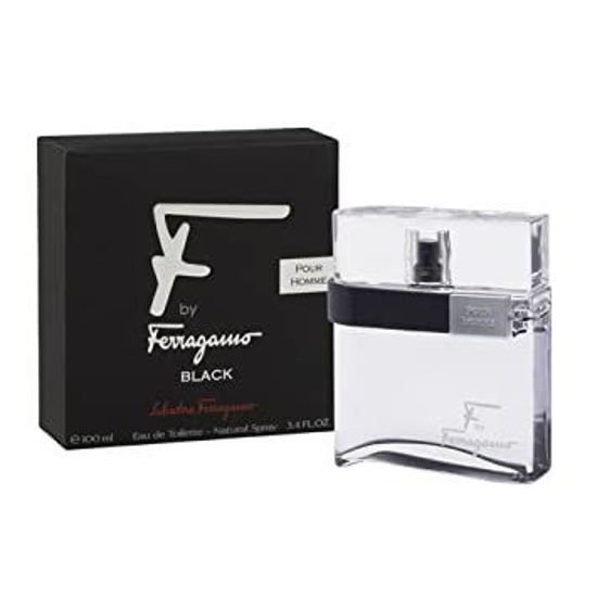 Picture of Salvatore Ferragamo F Black Edt For Men 100Ml