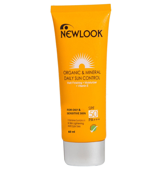 Picture of Newlook Organic and Mineral Daily Sun Control 100ml- SPF 50