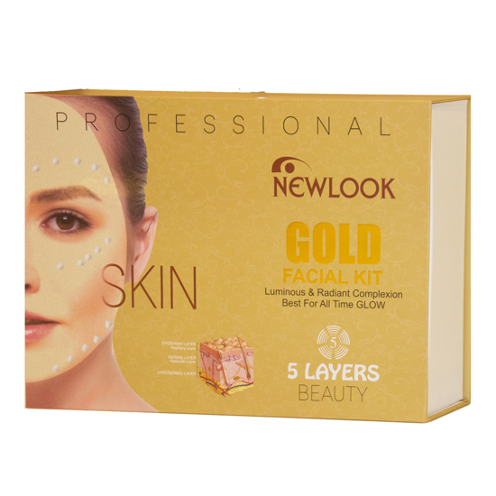 Picture of Newlook Gold Facial Kit