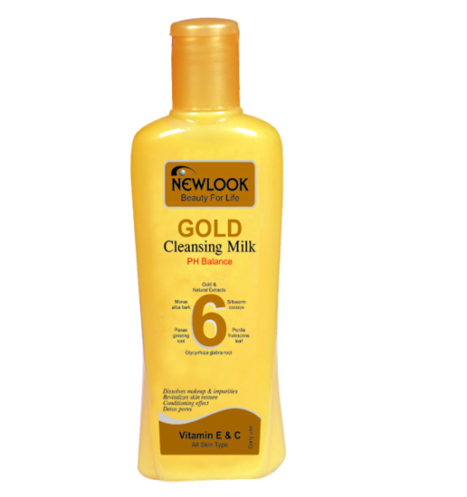 Picture of Newlook Gold Cleansing Milk-240ml