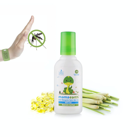 Picture of Mamaearth Anti Mosquito Fabric Roll On- 8ml