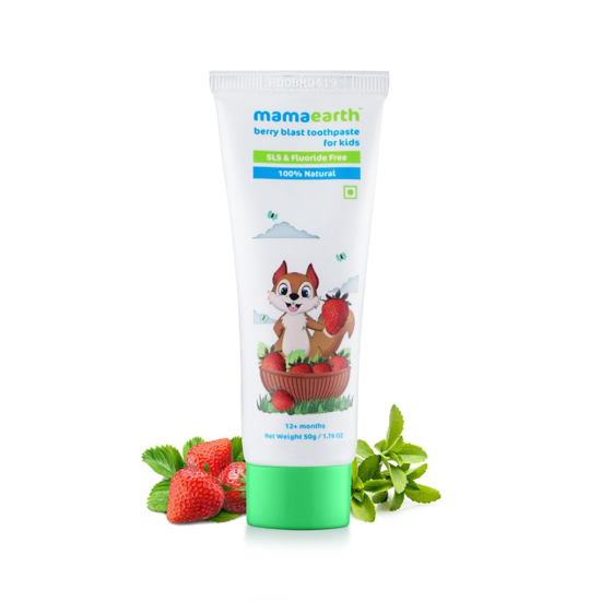 Picture of Mamaearth Berry Blast Toothpaste- 50gm