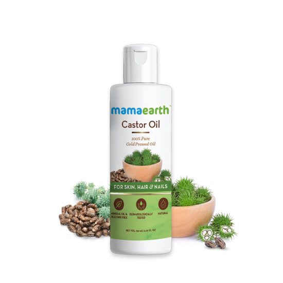 Picture of Mamaearth Castor Oil-150ml