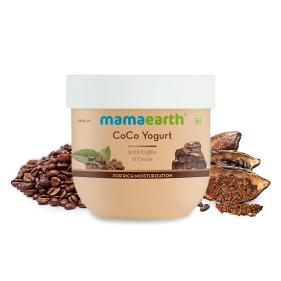 Picture of Mamaearth CoCo Yogurt, with Coffee and Cocoa for Rich Moisturization - 200 ml