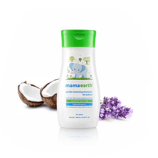 Picture of Mamaearth Gentle Cleansing Shampoo- 200ml
