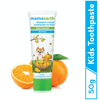 Picture of Mamaearth Sulfate Free Awesome Orange Toothpaste For Kids With Fluoride- 50gm