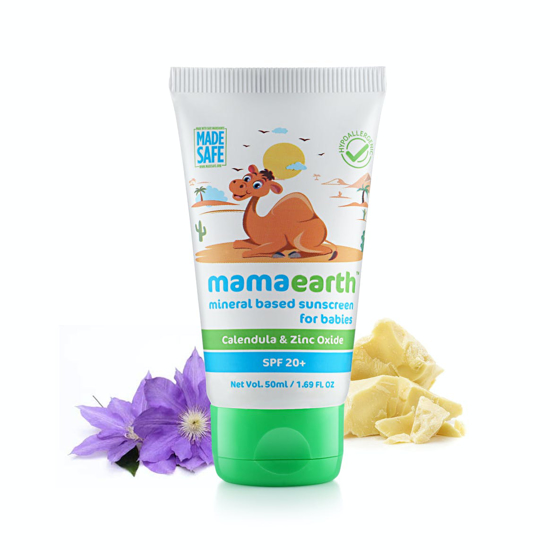 Picture of Mamaearth Mineral Based Sunscreen- 50ml