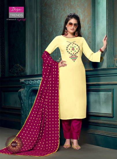 Picture of Kurtha with Dupatta Bottom