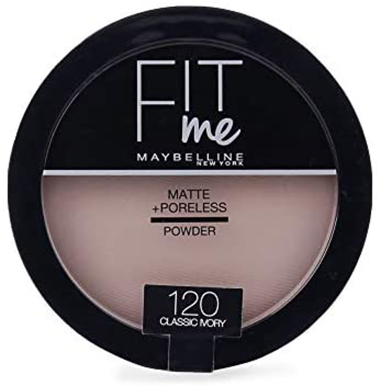 Picture of Maybelline New York Fit Me Matte + Poreless Face Powder 120 Classic Ivory