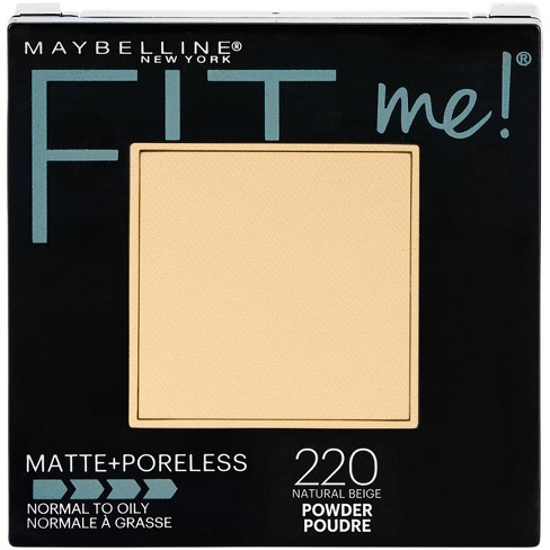 Picture of Maybelline New York Fit Me Matte Poreless Powder, 220 Natural Beige