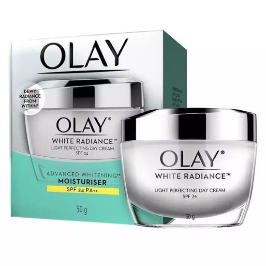 Picture of Olay White Radiance Light Perfecting Spf 24 Uva/Uvb Day Cream - 50Gm