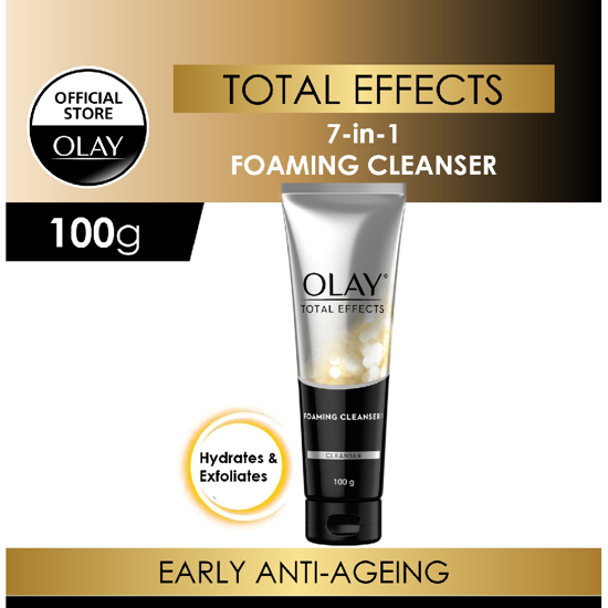 Picture of Olay Total Effects Anti Ageing Face Wash Cleanser - 100g