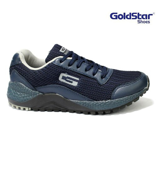 Picture of Goldstar Navy / Grey Running Shoes For Men - G10 G403
