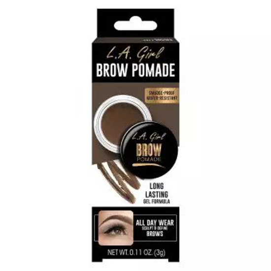 Picture of L.A. Girl Brow Pomade - Soft Black By Obsession Cosmetics