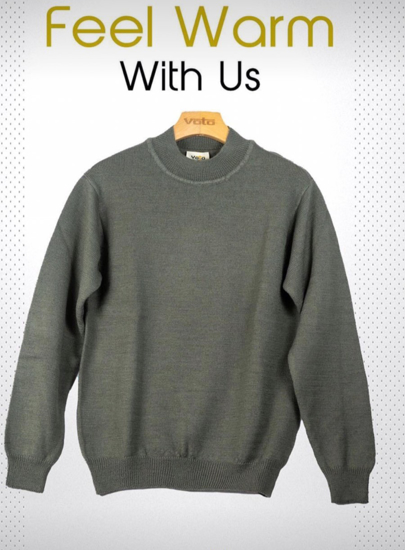 Picture of Grey Wollen Sweater