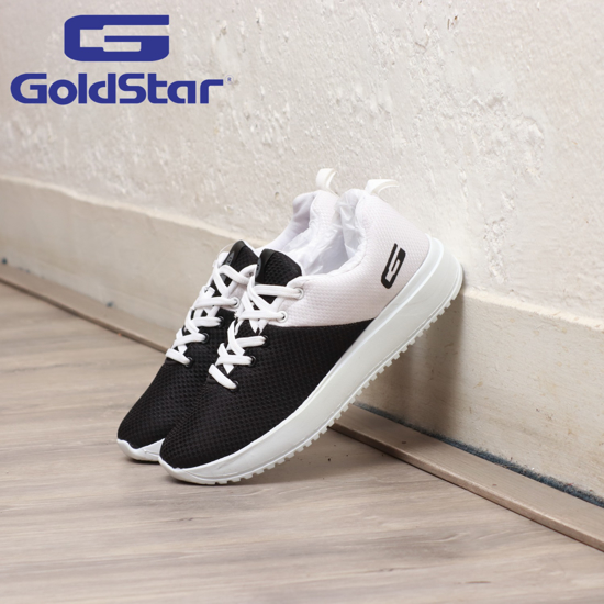 Picture of Goldstar Black  White Sports Shoes For Women - G10 L1002