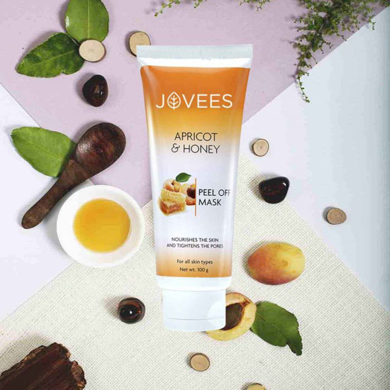 Picture of Apricot & Honey Peel Off Mask-100g