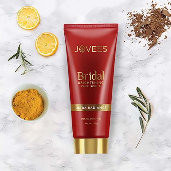 Picture of Jovees Bridal Brightening Face Scrub-100g