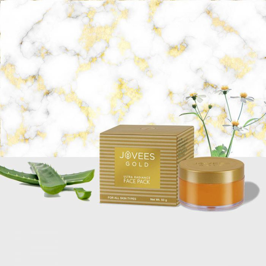 Picture of 24K Gold Ultra Radiance Face Pack-50g