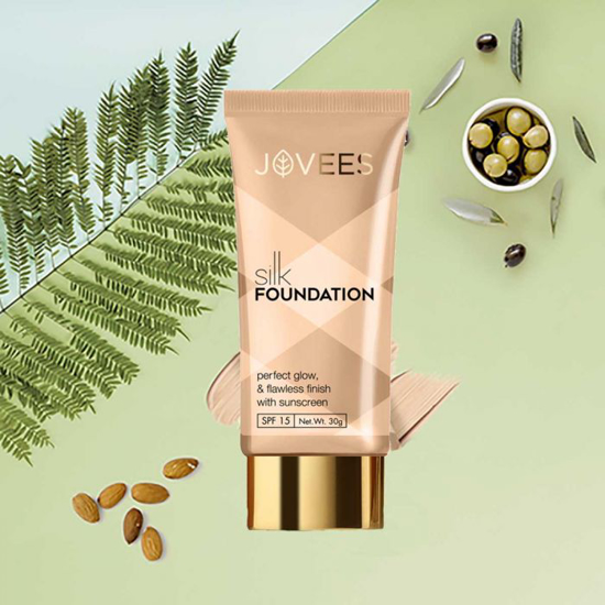 Picture of Jovees Silk Foundation-30g