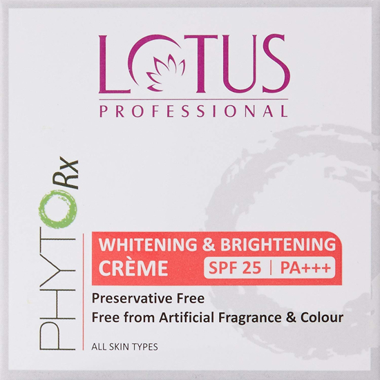Picture of Lotus Professional Whitening And Brightening Cream SPF 25 PA+++