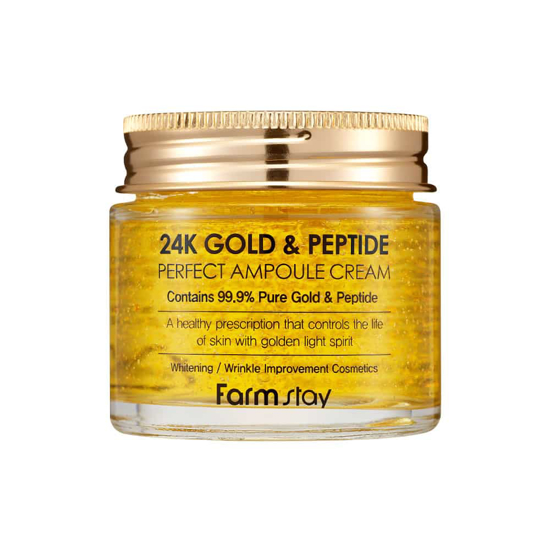 Picture of Farmstay 24k Gold & Peptide Perfect Ampoule Cream