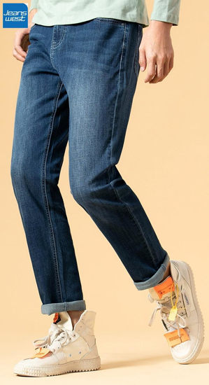 Picture of Jeanswest Dk. Blue Jeans For Men