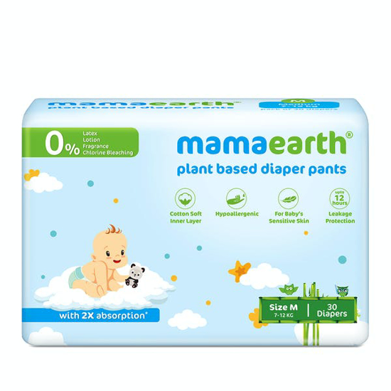 Picture of Mamaearth Baby Pants Medium, M-30 ( Diaper)