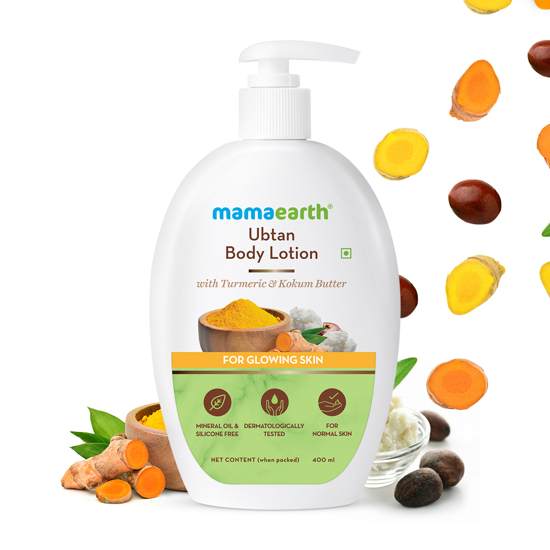 Picture of Mamaearth Ubtan Body Lotion 400ml