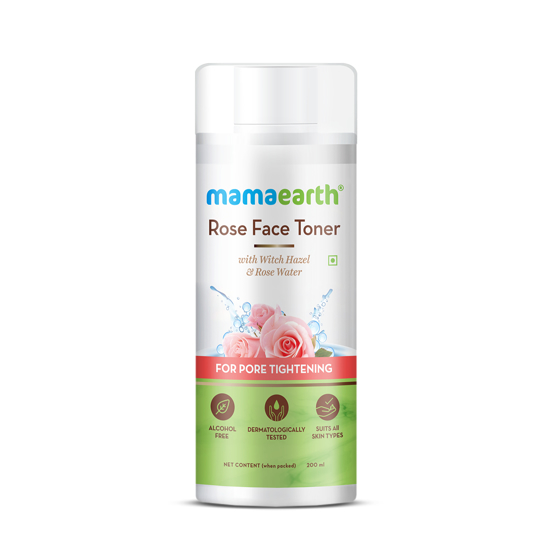 Picture of Mamaearth Rose Face Toner 200ml