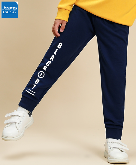 Picture of JeansWest Dk.Royal Joggers for Boys