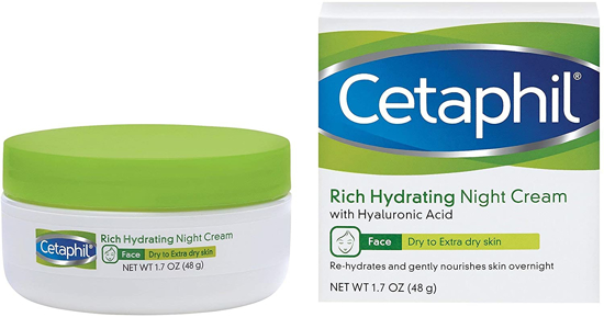 Picture of Cetaphil Rich Hydrating Night Cream- 48g