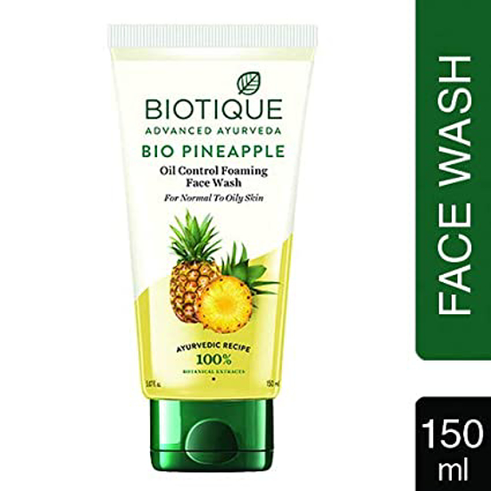 Picture of Biotique Advanced Bio Pineapple Face Wash - 100 Ml