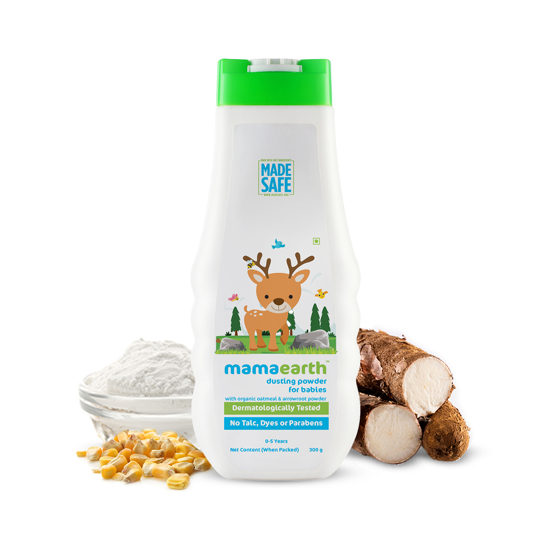 Picture of Mamaearth Dusting Powder for Babies- 300gm