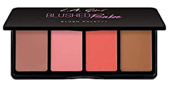 Picture of fanatic blush & highlighter palette - Blushed Babe