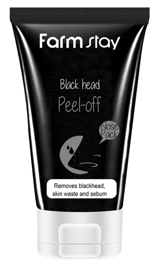Picture of Farmstay Charcoal Black Head Peel-Off Nose Pack