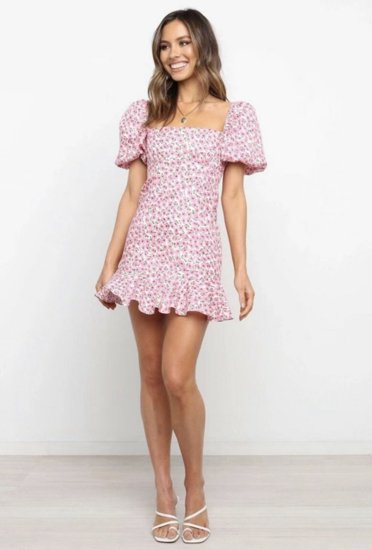 Picture of Short Floral Dress